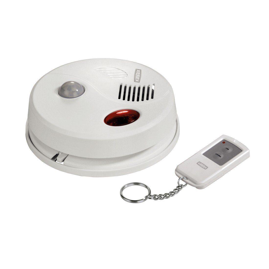 Xavax Alarmanlage für die Decke mit Infrarot Bewegungsmelder »Alarm Sensor mit Fernbedienung«