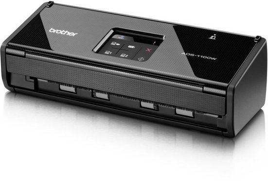 Brother Dokumentenscanner »Duplex Dokumentenscanner ADS-1100W«