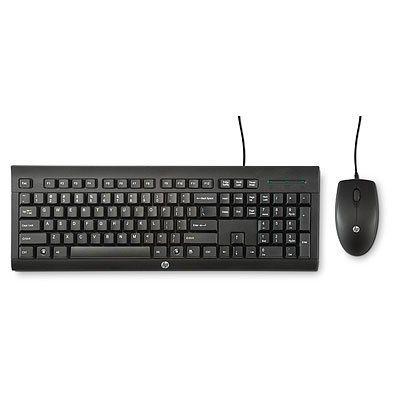 HP Maus & Tastatur »kabelgebundenes C2500 Tastatur-Set«