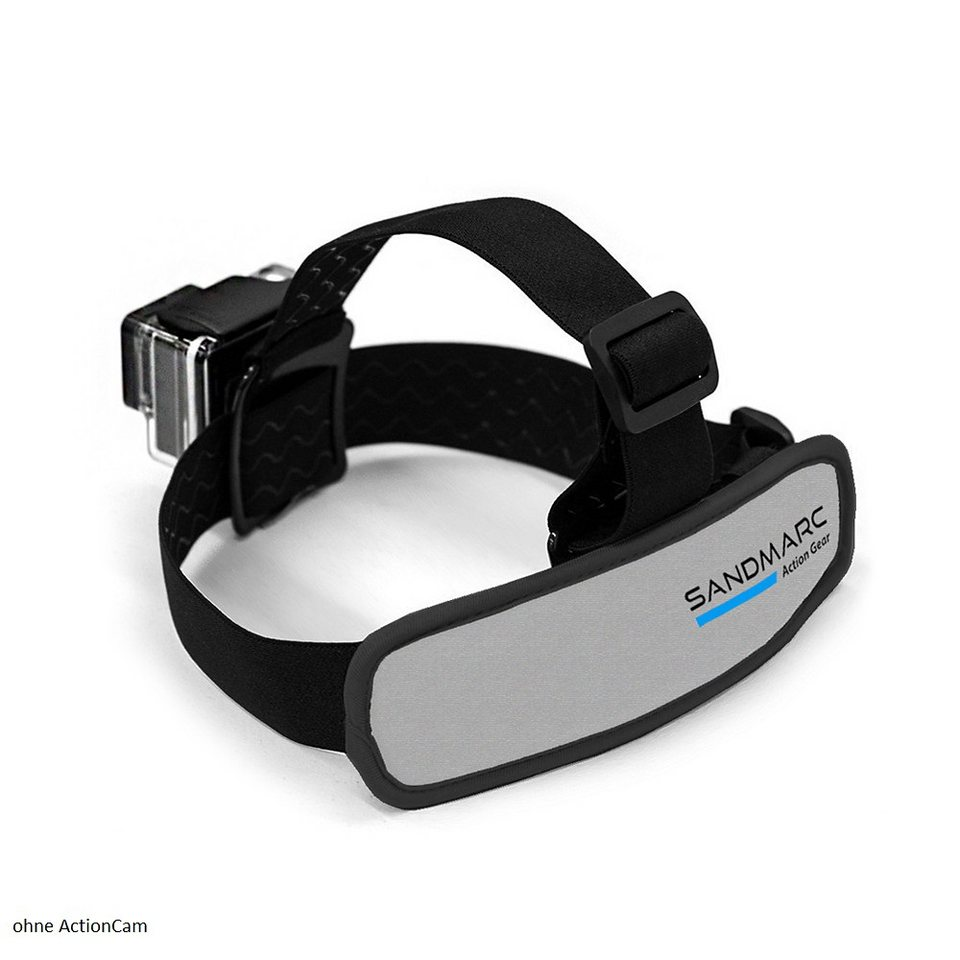 Sandmarc Kopfbefestigung für HERO »Floating Head Strap« in schwarz