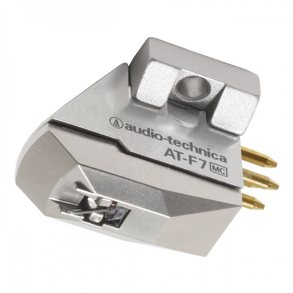 Audio-Technica Moving Coil Tonabnehmer »AT-F7« in silber