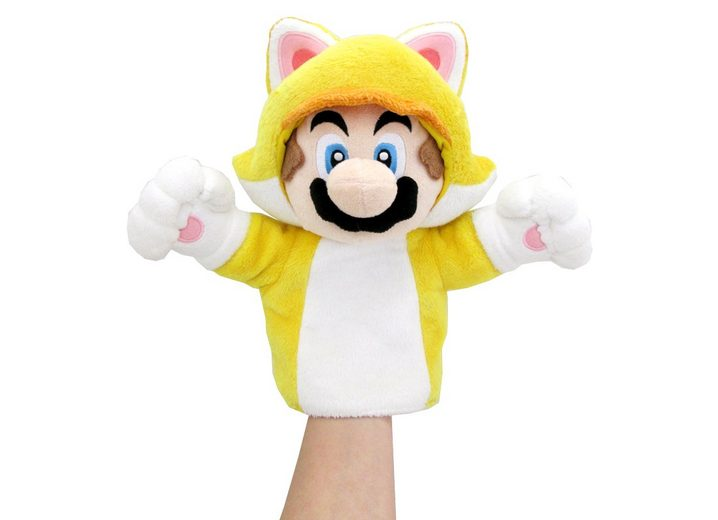 Together+ Fanartikel »Nintendo Plüschfigur Handpuppe Mario Katze (25cm)«
