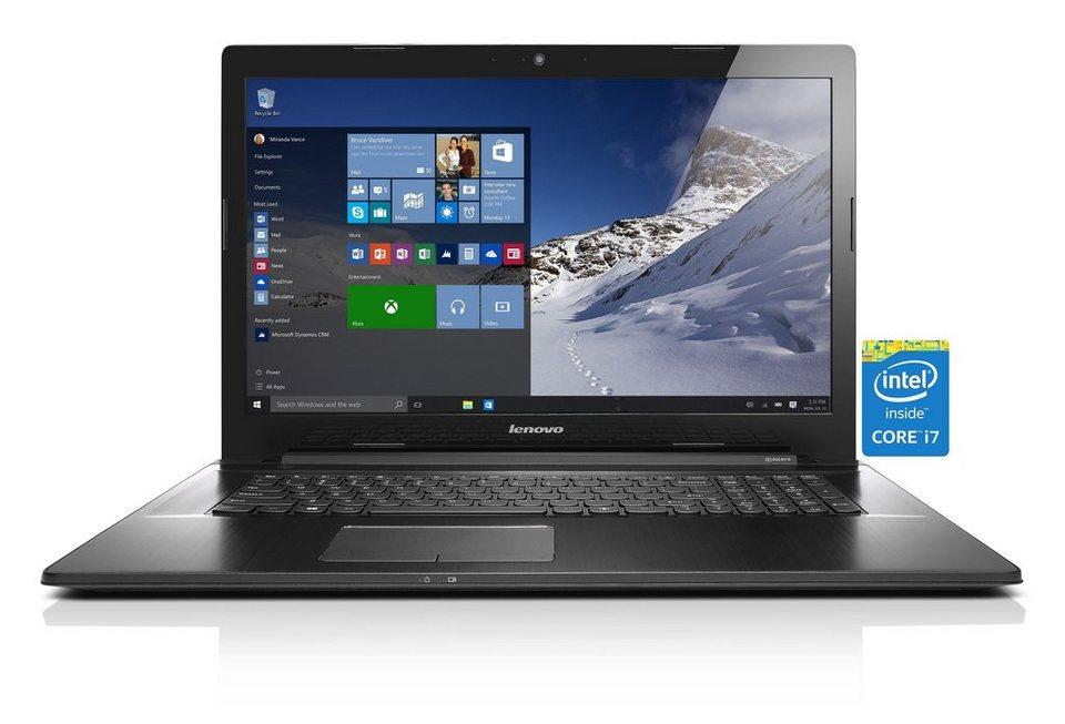 LENOVO IdeaPad Z70-80 Notebook »Intel Core i7-5500U, Intel HD Grafik, 1 TB, 8 GB« in schwarz