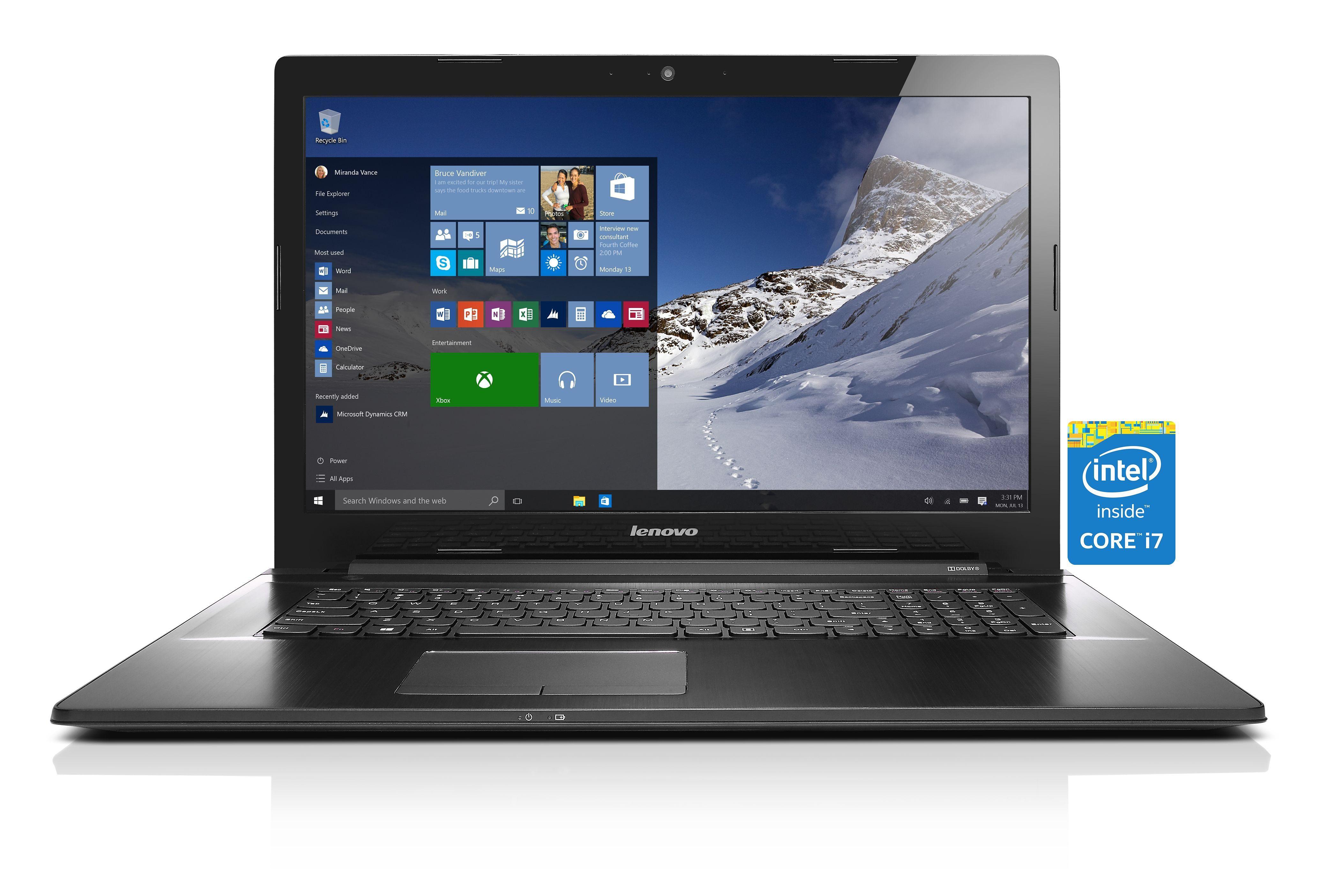 LENOVO IdeaPad Z70-80 Notebook »Intel Core i7-5500U, Intel HD Grafik, 1 TB, 8 GB«