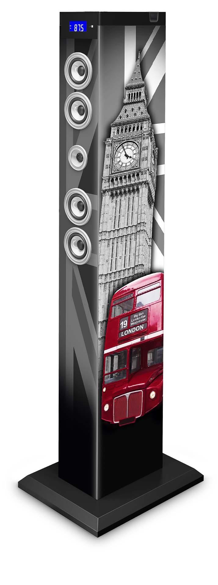 bigben 2.1 Multimedia Lautsprecher »Sound Tower TW9 - London«