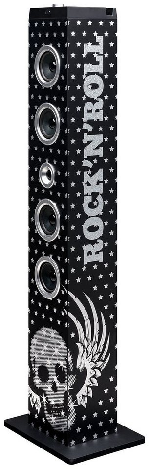 bigben Multimedia Lautsprecher »Sound Tower TW7 - Glam Rock«