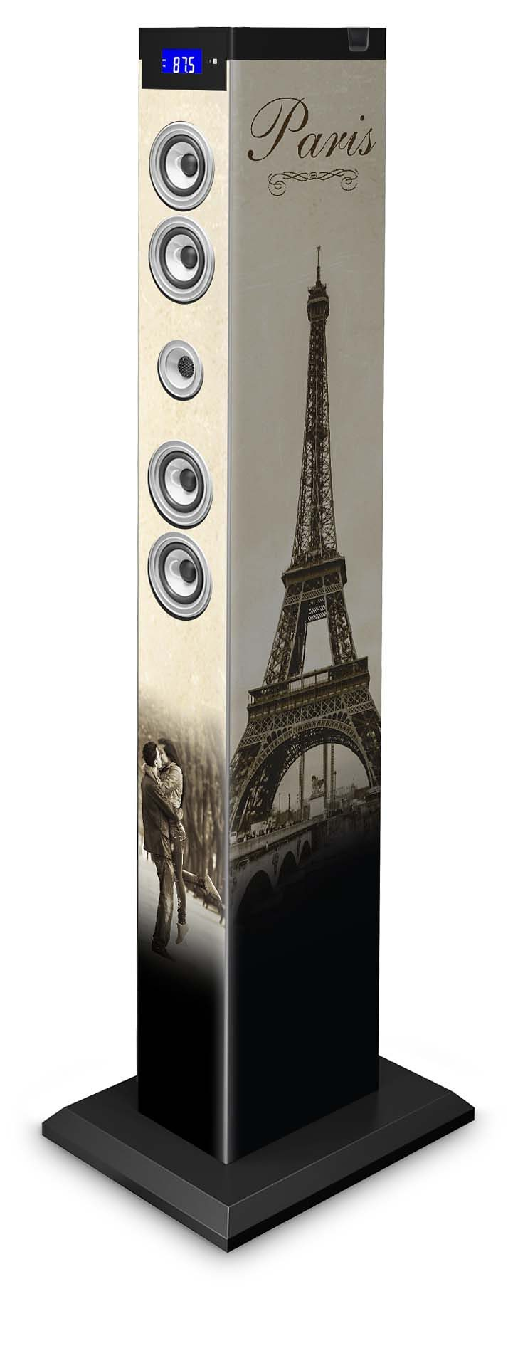 bigben 2.1. Multimedia Lautsprecher »Sound Tower TW9 - Paris 2«