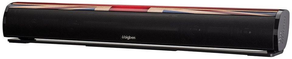 bigben Stereo Soundbar »Soundbar SB01 - Union Jack«