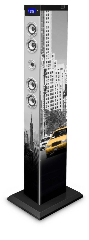 bigben 2.1 Multimedia Lautsprecher »Sound Tower TW9 - New York Yellow Cab«