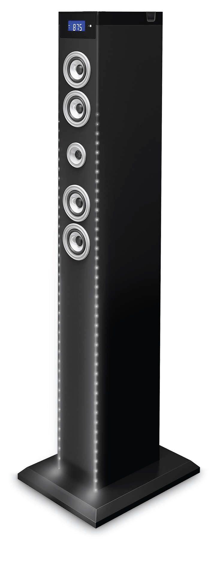 bigben 2.1 Multimedia Lautsprecher »Sound Tower TW9EQ - DJ White Light«