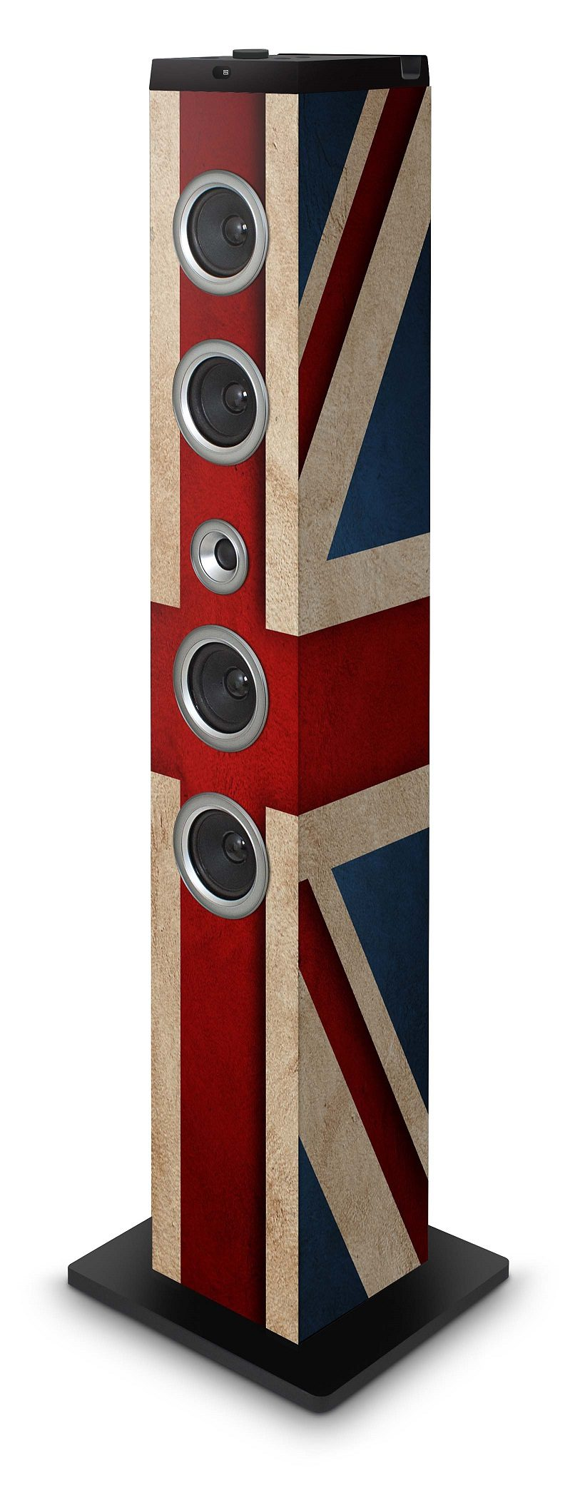 bigben Multimedia Lautsprecher »Sound Tower TW7 - Union Jack II«