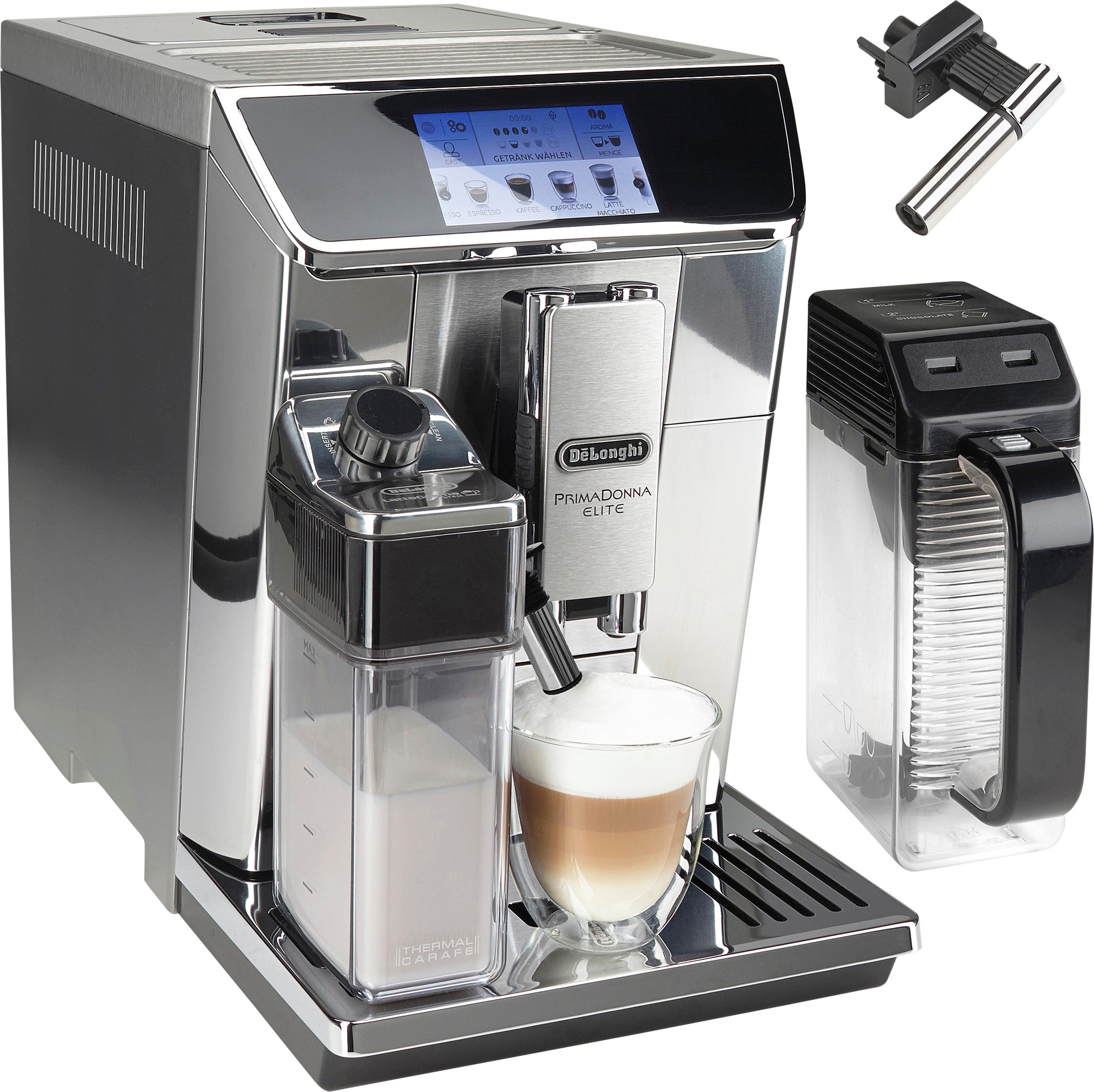 De'Longhi Kaffeevollautomat PrimaDonna Elite ECAM 656.75.MS, App-Steuerung