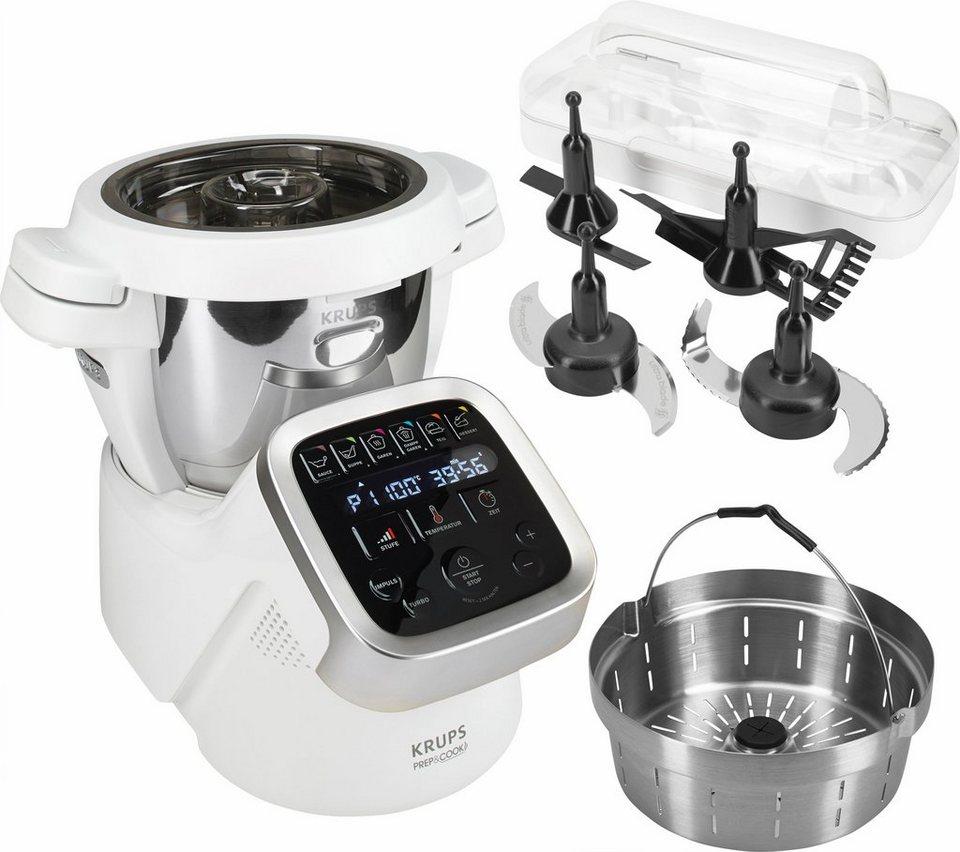 Krups Küchenmaschine mit Kochfunktion HP5031 Prep&Cook, 1550 W, 4,5 l Schüssel