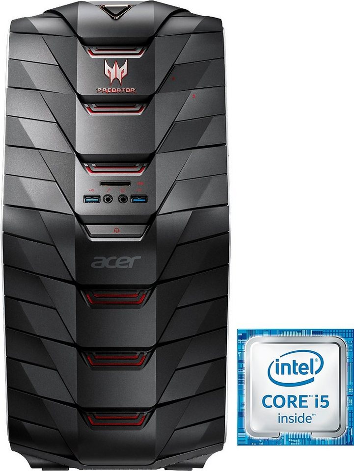 Acer Predator G6-710 Gaming-PC, Intel® Core™ i5, 8192 MB DDR4, 1128 GB Speicher