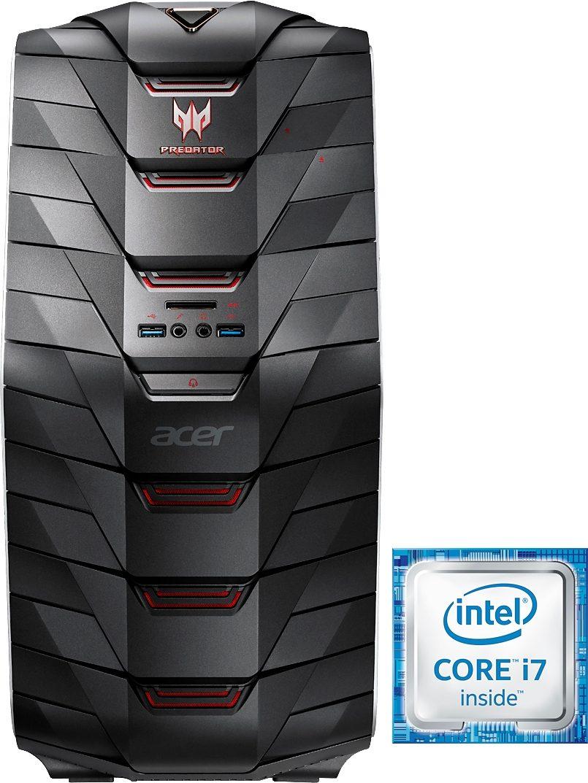 Acer Predator G6-710 Gaming-PC, Intel® Core™ i7, 16384 MB DDR4, 2256 GB Speicher