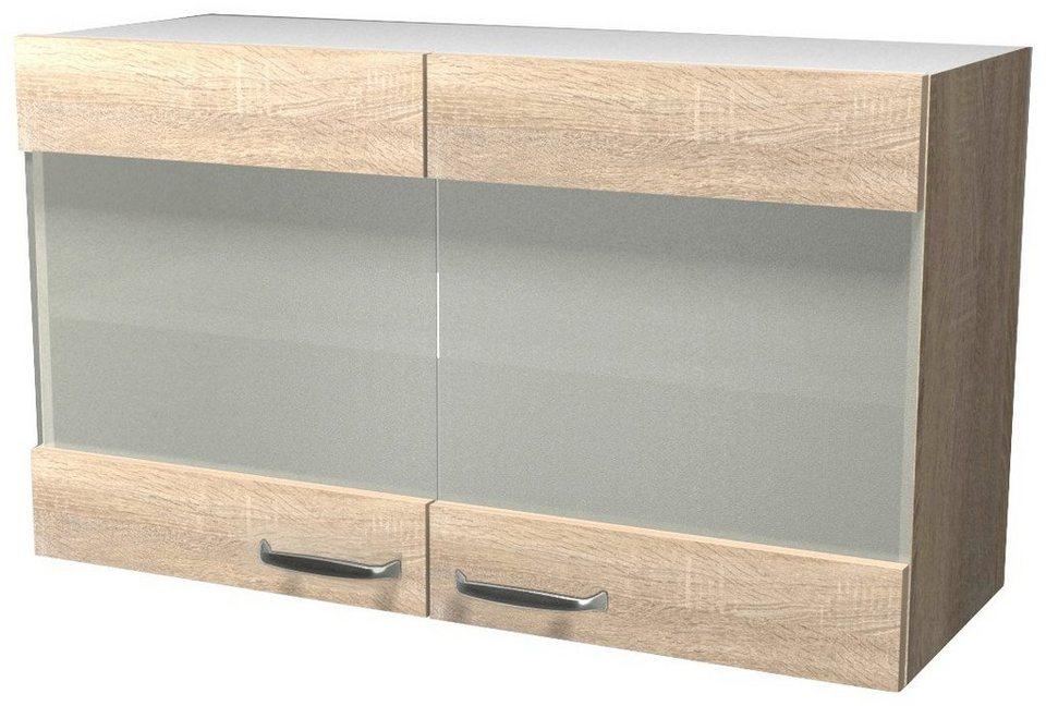 Küchenhängeschrank »Florenz«, Breite 100 cm in eichefarben sonoma