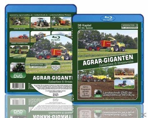 Blu-ray »Agrar-Giganten - Ackerbau und Grasernte«