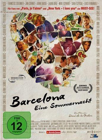 DVD »Barcelona - Eine Sommernacht«