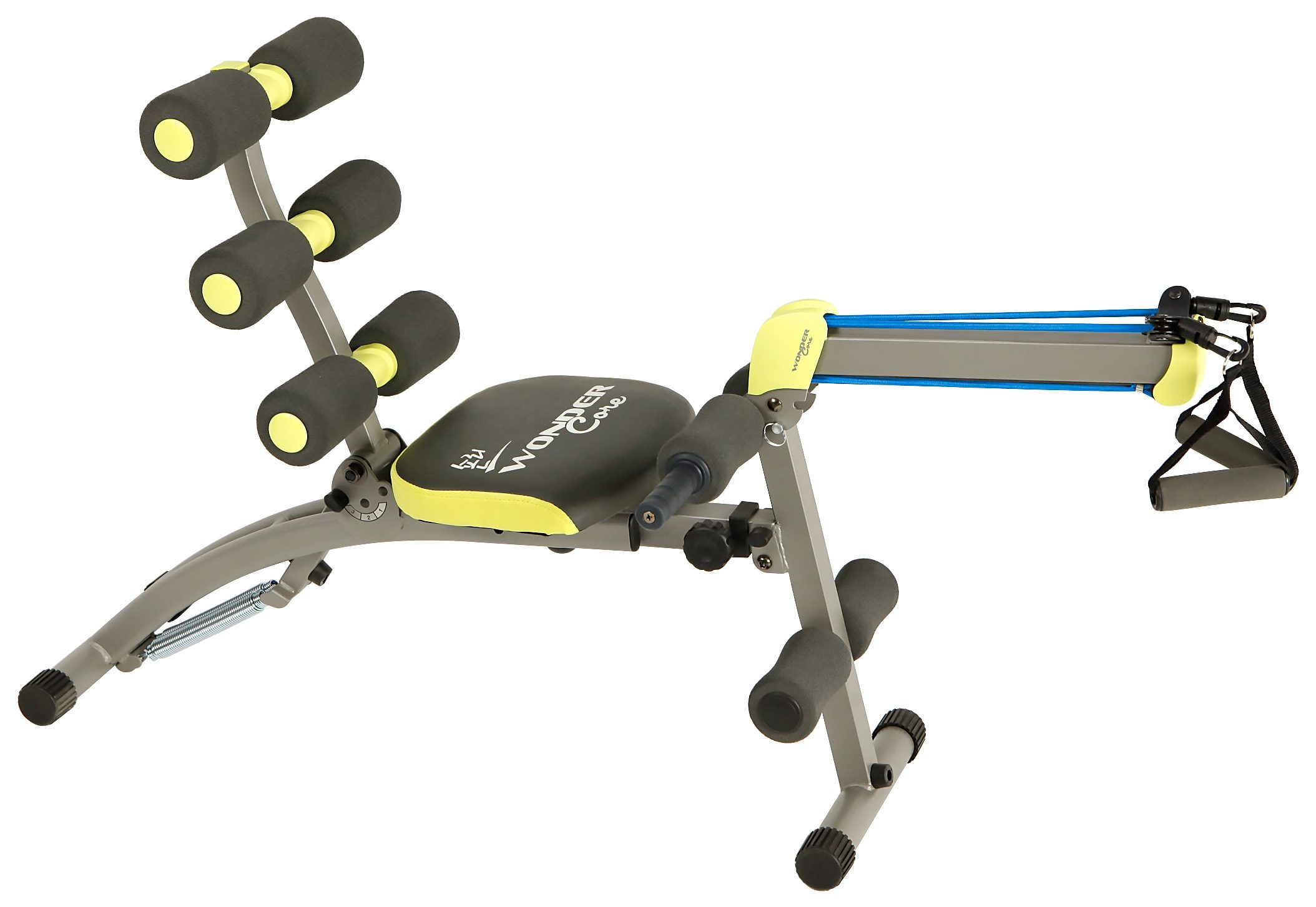 Ganzkörper Fitnessgerät Heimtrainer, inkl. 2. Rudereinheit, »Wonder Core 2«