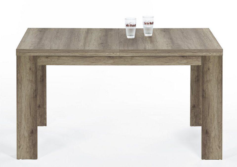 Esstisch in verschiedenen, Breiten in eichefarben antik