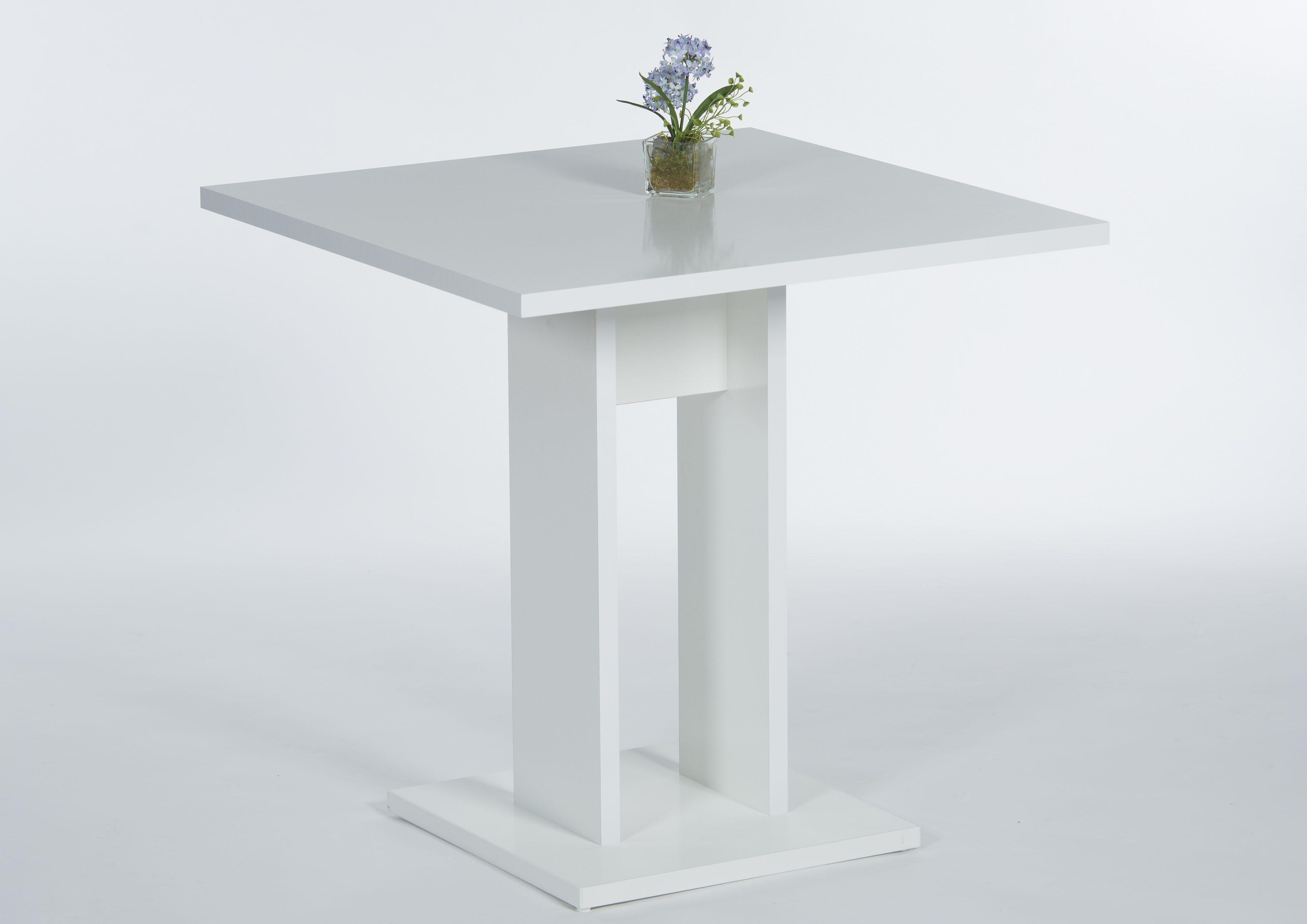 Säulen-Esstisch, Breite 75 cm