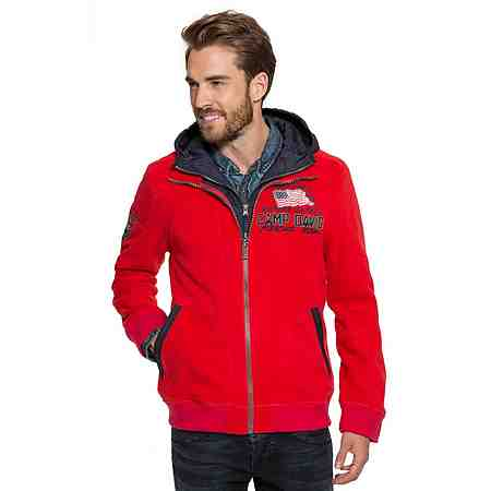 Camp David Fleecejacke