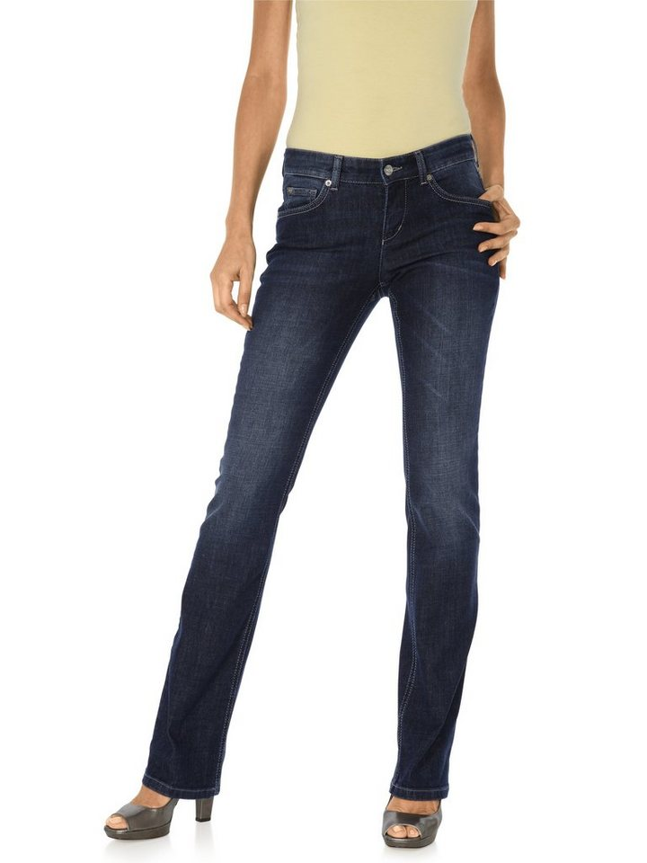 Flared-Jeans CARRIE in dark used