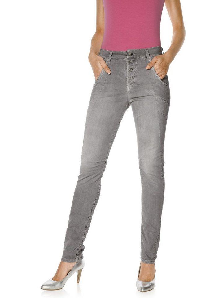 Jeans LAXY in grau