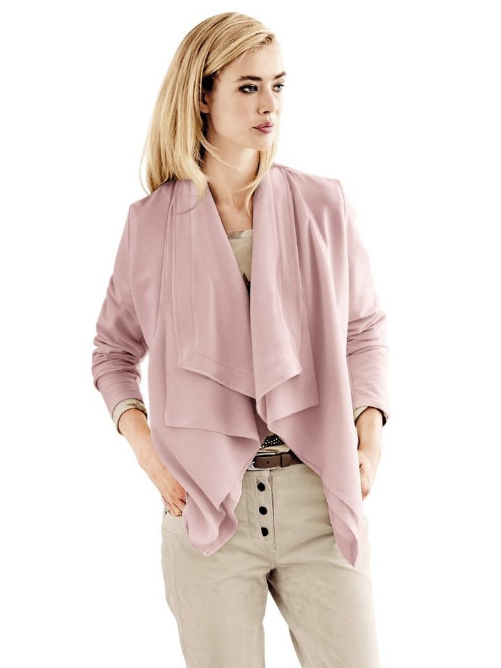B.C. BEST CONNECTIONS by Heine Shirtjacke in rosé