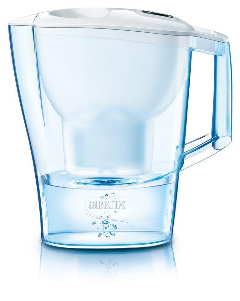 Brita Tischwasserfilter »Aluna Cool« in Weiß