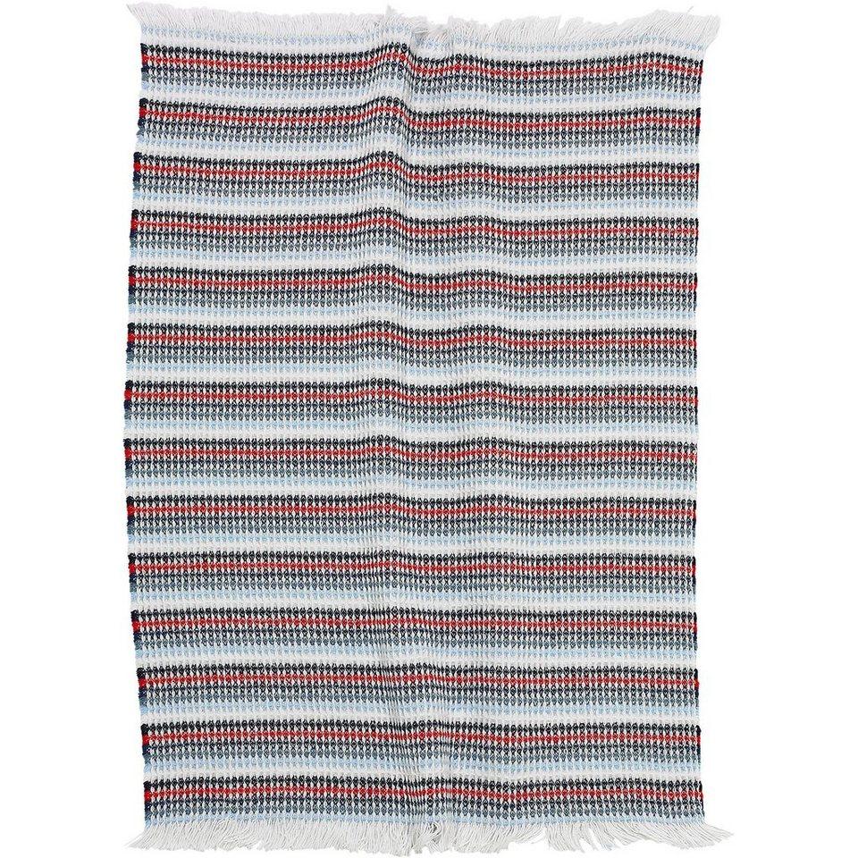 Alvi Babydecke, Baumwolle, bunt, 75 x 110 cm in mehrfarbig