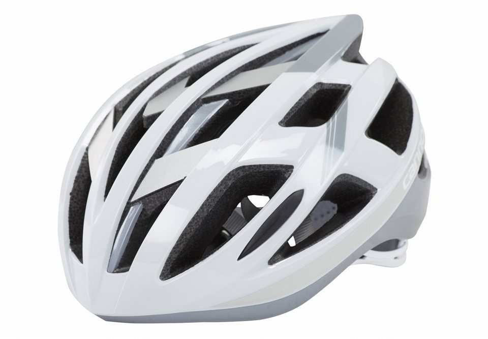 Cannondale Fahrradhelm »Caad Helm white/silver« in weiß