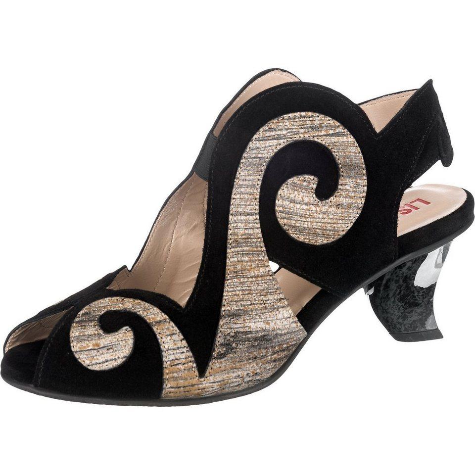 Lisa Tucci Sandaletten in schwarz-kombi