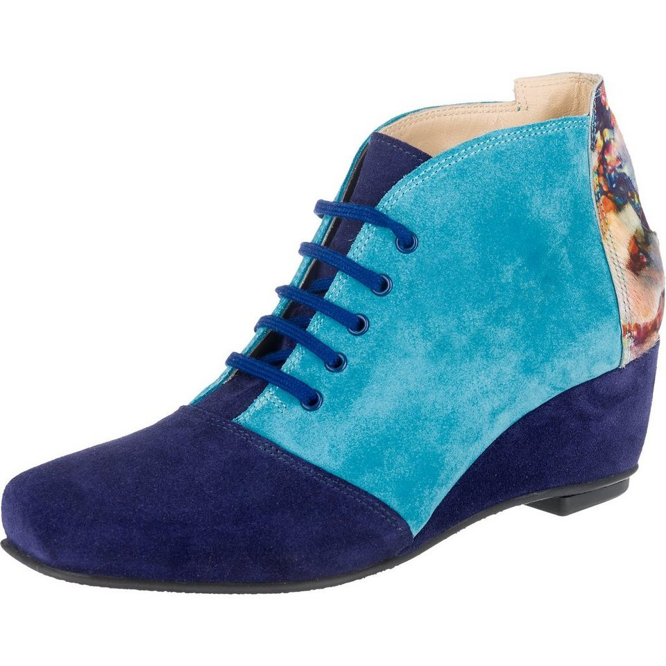 Lisa Tucci Stiefeletten in blau-kombi