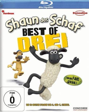 Blu-ray »Shaun das Schaf - Best of Drei«