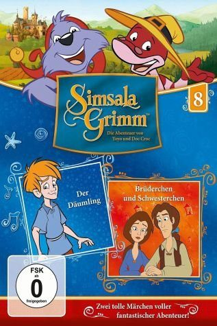 DVD »SimsalaGrimm 8 - Der Däumling / Brüderchen und...«