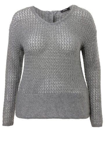FRAPP Luftig-leichter Pullover mit Silberfaden