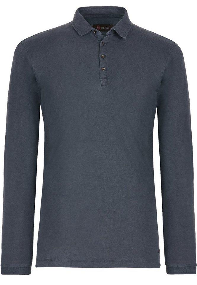 CG - Club of Gents Polo-Shirt »CG Baethan« in dunkelblau