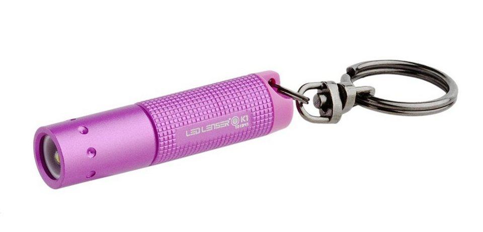 Led Lenser Taschenlampe »K1« in Pink