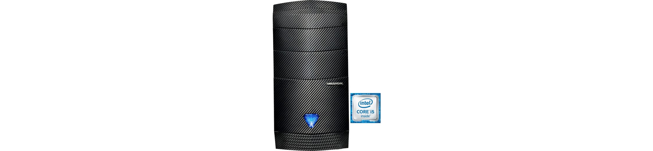 Medion® PC S91 (B783) PC, Intel® Core™ i5, 8192 MB DDR3-RAM, 3120 GB Speicher