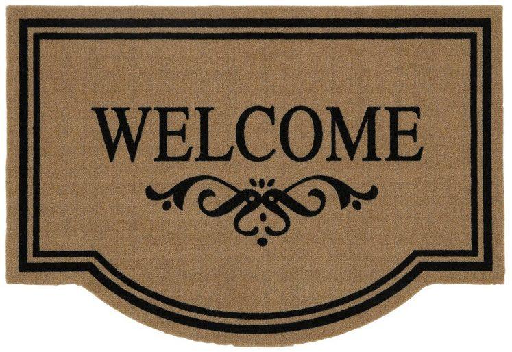 Fußmatte »Welcome«, HANSE Home, stufenförmig, Höhe 6 mm