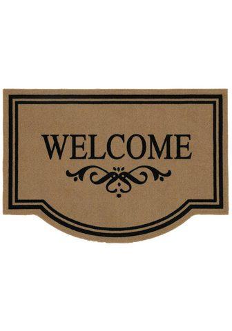 HANSE HOME Durų kilimėlis »Welcome« stufenförmig ...