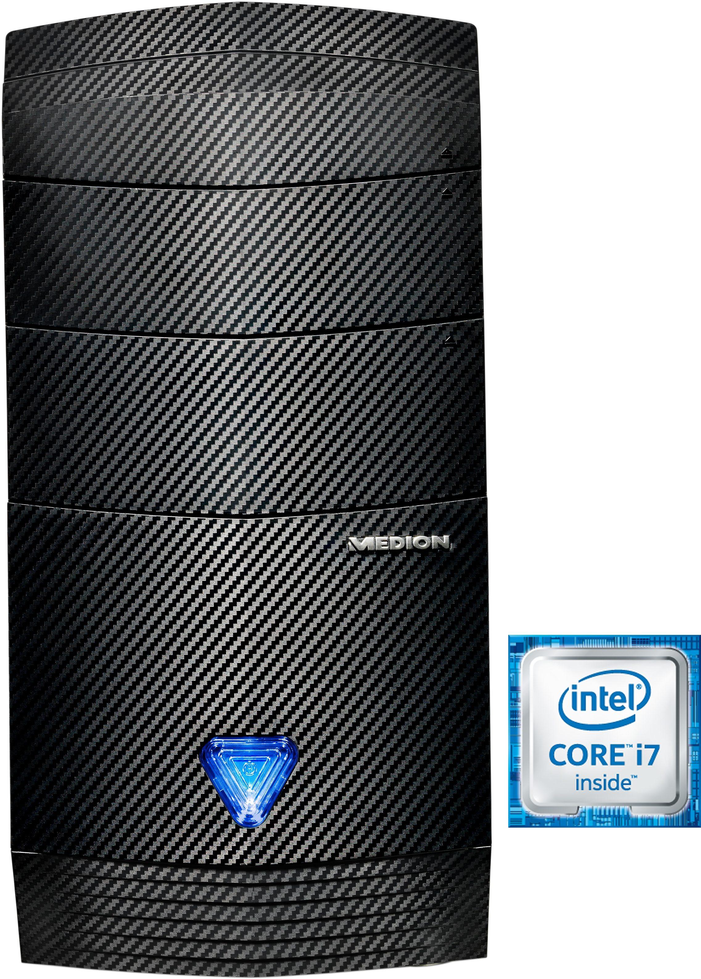 Medion® Akoya P5396 H (S91) PC, Intel® Core™ i7, 8192 MB DDR3-RAM, 1128 GB Speicher