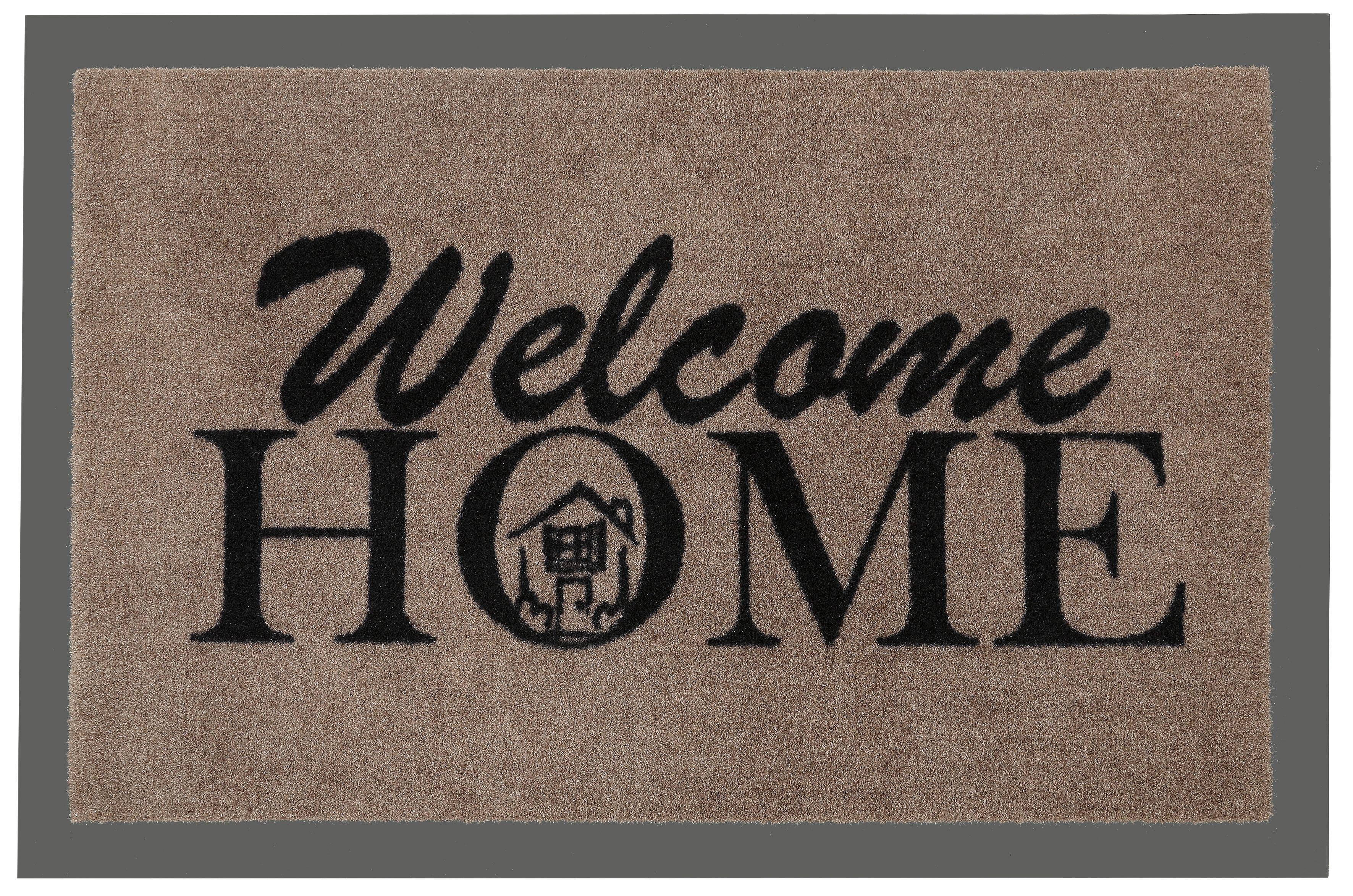 Fußmatte »Welcome Home«, Hanse Home, rechteckig, Höhe 7 mm