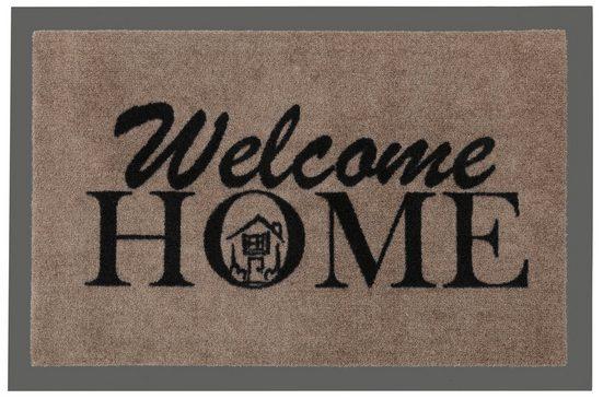 Fußmatte »Welcome Home«, HANSE Home, rechteckig, Höhe 7 mm, rechteckig