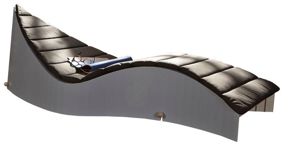 müller möbelwerkstätten® Polsterauflage für die Designliege »KOii« in anthrazit