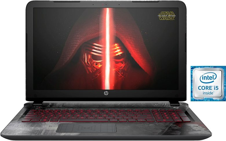 HP 15-an000ng Star Wars Special Edition Notebook, Intel® Core™ i5, 39,6 cm (15,6 Zoll)