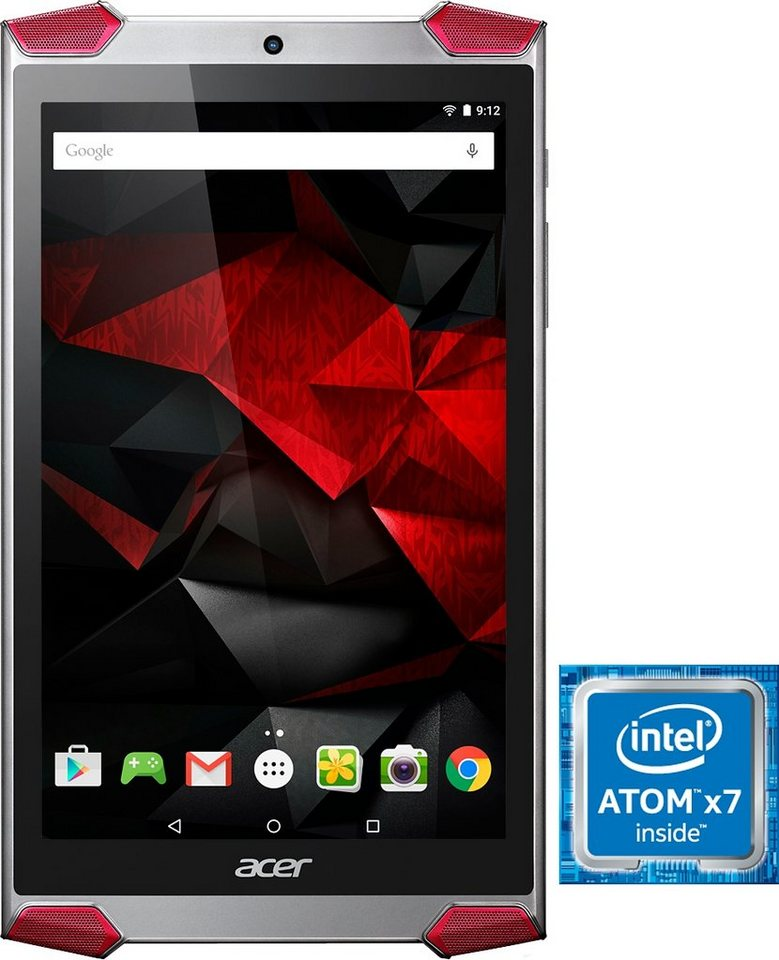 Acer Predator 8 GT-810 Tablet-PC, Android 5.1, Intel Atom, 20,3 cm (8 Zoll), 2048 MBLPDDR3 in Silber