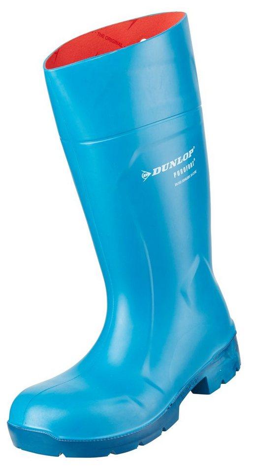 Dunlop Gummistiefel Purofort in blau