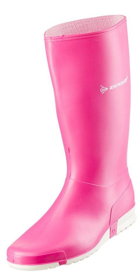 Dunlop Gummistiefel in pink